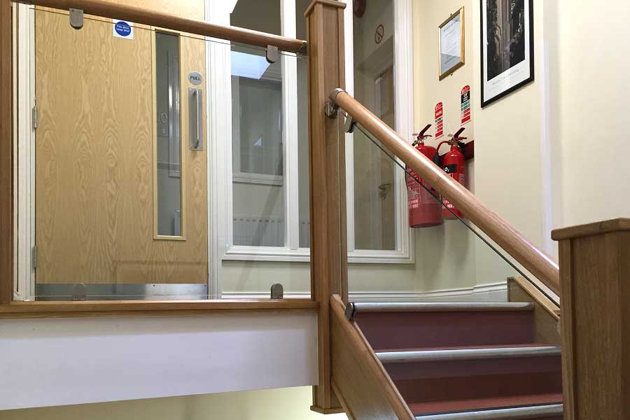 Office Staircase Refurbishment After