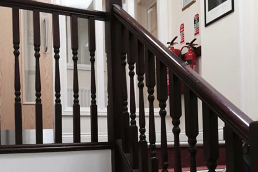 Office Staircase Refurbishment Before