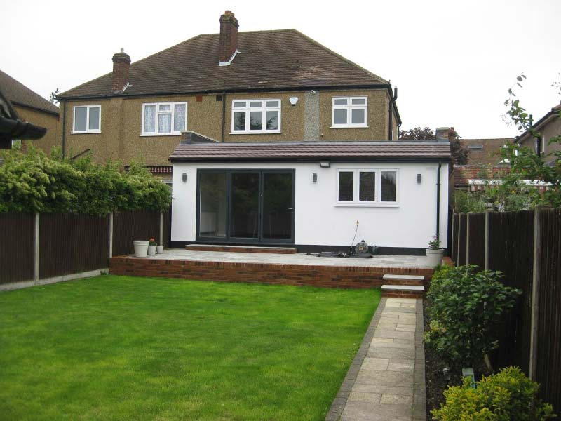 Rear House Side Extension After