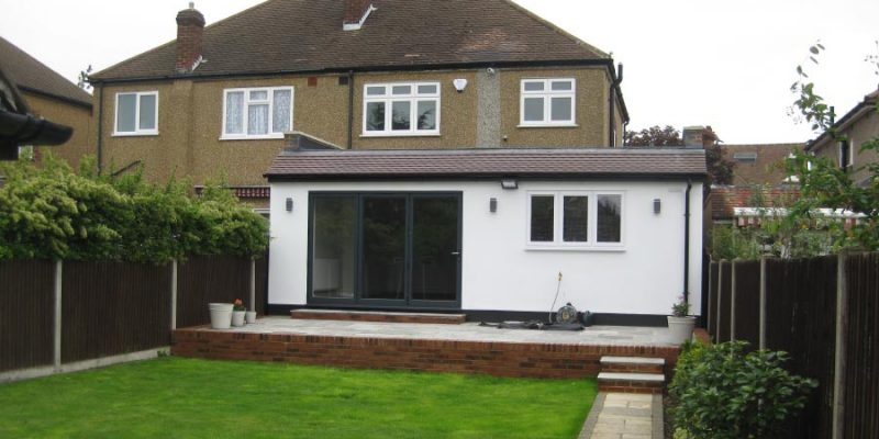 Rear House Side Extension